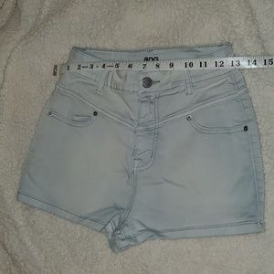 Urban Outfitters High Rise Jean Shorts
